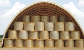 Lagerhalle für Strohballen, Holz, Sand u.v.m.-