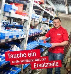 Lagermitarbeiter im Ersatzteilverkauf (m/w)-