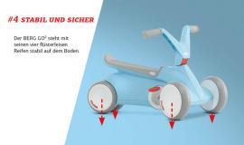 BERG GO2 - Stabil und sicher-