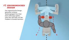 BERG GO2 - Ergonomisches Design-